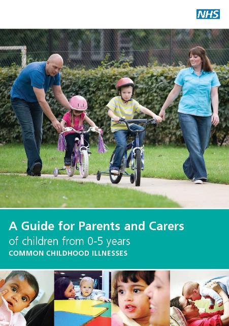 Guide for Parents and Carers of children from 0 5 cover